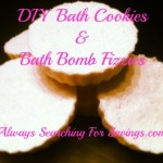 DIY Bath Cookies and Bath Bomb Fizzies