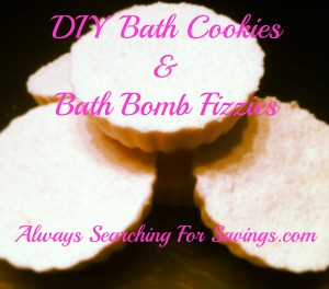 Bath Cookies and Bath Bomb Fizzies