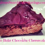 Easy No Bake Chocolate Cheesecake!