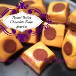 Peanut Butter Chocolate Surprise Fudge