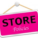 Store Coupon Policies!