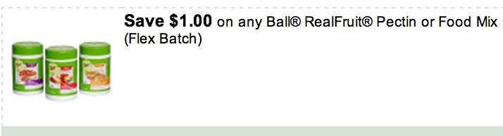 Ball Canning Coupon