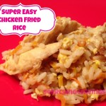 Super Easy Chicken Fried Rice Recipe