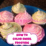 How to Make Color Swirled Frosting