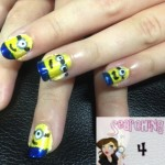 Despicable Me Minion Nail Tutorial