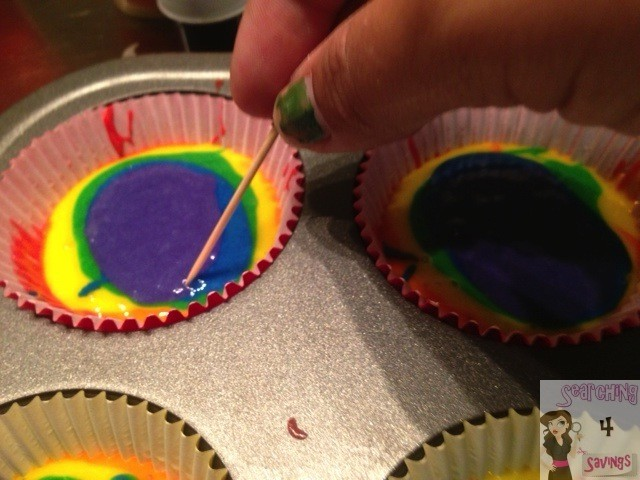 Rainbow Cupcakes and Unicorn Poop Frosting