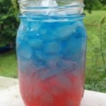4th of July Non Alcoholic Layered Drinks!