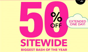 E.L.F Cosmetics 50% off Sale!