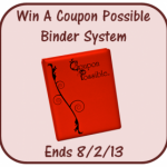 Coupon Possible Binder Giveaway!