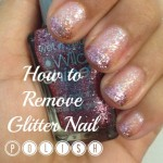 Easiest Way to Remove Glitter Nail Polish!