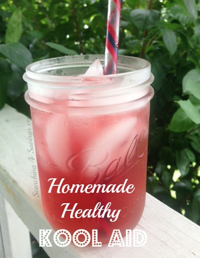 Homemade Healthy Kool-Aid