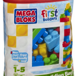 Mega Bloks First Builders 80 piece Bag Set