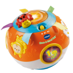 VTech Move and Crawl Ball, Orange