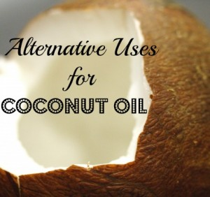 Alternative Uses for Coconut Oil