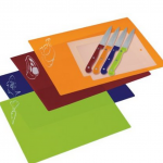 Progressive International 10-Piece Chopping Mat and Knife Set