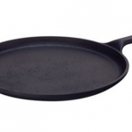 Lodge Pre-Seasoned Round Griddle, 10.5-inch