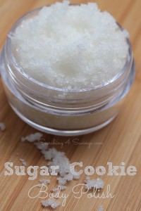 Homemade Gift Idea: Sugar Cookie Body Polish