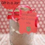 DIY Hot Cocoa Gifts in a Jar
