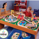 KidKraft Ride Around Town 100-Piece Train Table and Set $7.64! (Retail $199)