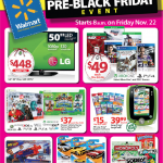 Walmart Pre Black Friday Sales List!