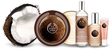 coconut beauty treats